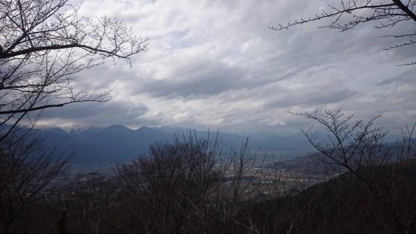 山がどーん!!!!今日はちょっと残念なお天気