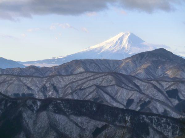 テント場からの富士山