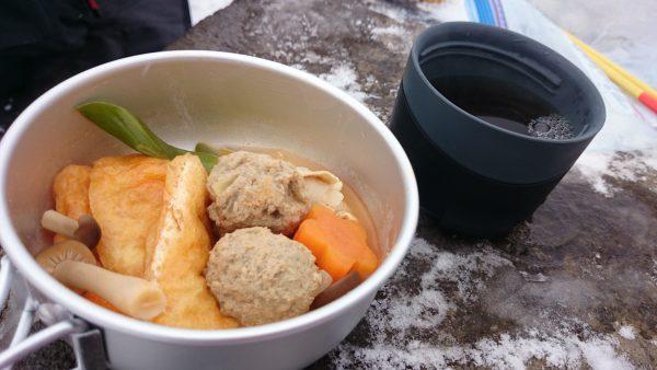 いただきま~す!!ん~たまらん!寒い日にはピリリとした辛いキムチ鍋が身に染みる!
