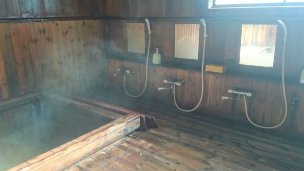 下山後は渋御殿湯で温まるのもいいですよ♪1人1,000円。