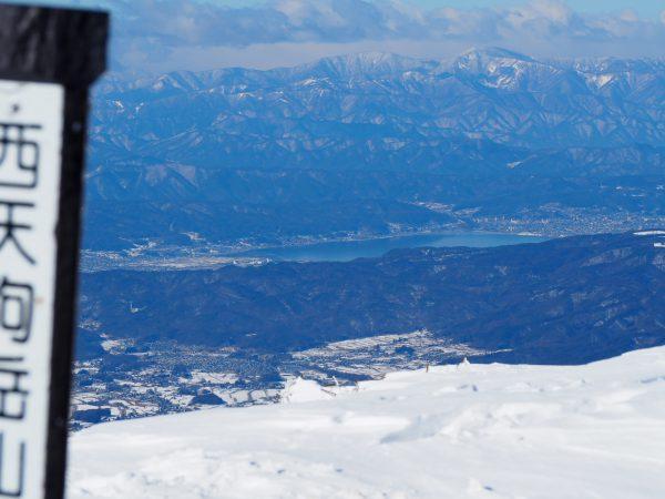 諏訪湖も見えますよ~♪