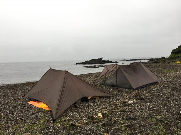 ニンジャネストとニンジャタープでキャンプ